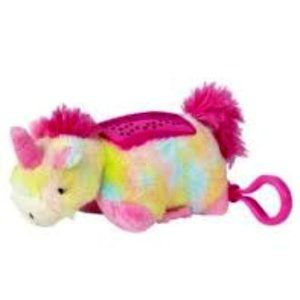 Mini Pillow Pets Dream Lites Rainbow Unicorn